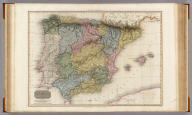 Spain and Portugal. Drawn under the direction of Mr. Pinkerton by L. Hebert. Neele sculpt. 352 Strand. London: published March 1st. 1810, by Cadell & Davies, Strand & Longman, Hurst, Rees, Orme, & Brown, Paternoster Row.