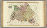 Germany south of the Mayn. Drawn by L. Hebert under the direction of Mr. Pinkerton. Neele sculpt. 352 Strand. London: published 4th. June 1811, by Cadell & Davies, Strand & Longman, Hurst, Rees, Orme, & Brown, Pater-Noster Row.