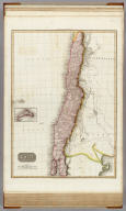 Chili. (with inset map) Isola de Tierra the easternmost of Juan Fernandes Islds. Drawn under the direction of Mr. Pinkerton by L. Hebert. Neele sculpt. 352 Strand. London: published Octr. 15th 1809, by Cadell & Davies, Strand & Longman, Hurst, Rees, Orme, & Brown, Paternoster Row.