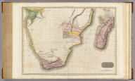 Southern Africa. Drawn under the direction of Mr. Pinkerton by L. Hebert. Neele sculpt. 352 Strand. London: published July 4th, 1809, by Cadell & Davies, Strand & Longman, Hurst, Rees, Orme, & Brown, Paternoster Row.