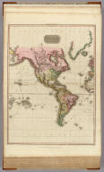 The World on Mercator's projection, western part. Drawn under the direction of Mr. Pinkerton by L. Hebert. Neele sculpt. 352 Strand. London: published October 10th. 1812, by Cadell & Davies, Strand & Longman, Hurst, Rees, Orme, & Brown, Paternoster Row.