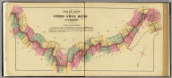 Index map to Atlas of the Upper Ohio River & Valley. (... compiled & drawn for the publishers by E.L. Hayes, assisted by E.F. Hayes, C.M. Beresford, assisted by S.A. Charpiot, F.L. Sanford, J.H. Sherman. Published by Titus, Simmons & Titus ... Phila. 1877. Eng. by Worley & Bracher ... Printed by H.J. Toudy & Co. ... Oldach & Mergenthaler Binders ...)