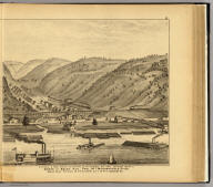 H.B. Hays & Bro. miners & shippers of bituminous gas coal (by river and rail) Works at Becks Run, Pool No. 1, Monongahela River, Becks Run Station on P.V. & C.R.W., City of Pittsburgh, Pa. (... compiled & drawn for the publishers by E.L. Hayes, assisted by E.F. Hayes, C.M. Beresford, assisted by S.A. Charpiot, F.L. Sanford, J.H. Sherman. Published by Titus, Simmons & Titus ... Phila. 1877. Eng. by Worley & Bracher ... Printed by H.J. Toudy & Co. ... Oldach & Mergenthaler Binders ...)
