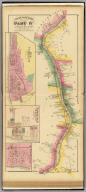 Upper Ohio River and Valley part IV, 47 to 64 miles below Pittsburgh, 403 to 420 miles above Cincinnati. (with) New Cumberland, Hancock Co. W.V. (with) Newburgh, Sloans Sta., Jefferson Co., O. (with) McCoys Station, Jeff. Co. O. (... compiled & drawn for the publishers by E.L. Hayes, assisted by E.F. Hayes, C.M. Beresford, assisted by S.A. Charpiot, F.L. Sanford, J.H. Sherman. Published by Titus, Simmons & Titus ... Phila. 1877. Eng. by Worley & Bracher ... Printed by H.J. Toudy & Co. ... Oldach & Mergenthaler Binders ...)
