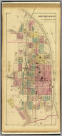 Steubenville, Jefferson Co., Ohio, 1st, 4th. & parts of 2nd., 3rd., & 5th. wards. (... compiled & drawn for the publishers by E.L. Hayes, assisted by E.F. Hayes, C.M. Beresford, assisted by S.A. Charpiot, F.L. Sanford, J.H. Sherman. Published by Titus, Simmons & Titus ... Phila. 1877. Eng. by Worley & Bracher ... Printed by H.J. Toudy & Co. ... Oldach & Mergenthaler Binders ...)