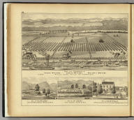 Farm and residences of Joseph ..., John A. ..., William E. Watters, Neville Island, Neville Tw'p., Allegheny Co., Pa. (with) Res. of F.E. Williams, near New Martinsville, Wetzel Co., W. Va. (with) Res. of W.J. Kenny ... (with) Res. of Dr. W.P. Neale ... (both) Point Pleasant, Mason Co., W. Va. (... compiled & drawn for the publishers by E.L. Hayes, assisted by E.F. Hayes, C.M. Beresford, assisted by S.A. Charpiot, F.L. Sanford, J.H. Sherman. Published by Titus, Simmons & Titus ... Phila. 1877 ... Printed by H.J. Toudy & Co. ... Oldach & Mergenthaler Binders ...)