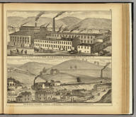Stove foundry, fitting shops &c. of Bissell & Co. ... Allegheny City, Pa. (with) Enterprise Colliery, Hartley & Marshall, proprietors, Banksville, Allegheny Co., Pa. (... compiled & drawn for the publishers by E.L. Hayes, assisted by E.F. Hayes, C.M. Beresford, assisted by S.A. Charpiot, F.L. Sanford, J.H. Sherman. Published by Titus, Simmons & Titus ... Phila. 1877 ... Printed by H.J. Toudy & Co. ... Oldach & Mergenthaler Binders ...)