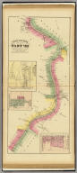 Upper Ohio River and Valley part VIII, 117 to 135 miles below Pittsburgh, 332 to 350 miles above Cincinnati. (with) Baresville, Monroe County, O., Hannibal P.O. (with) Sardis, Monroe Co., O. (with) New Martinsville, Wetzel Co., W. Va. (... compiled & drawn for the publishers by E.L. Hayes, assisted by E.F. Hayes, C.M. Beresford, assisted by S.A. Charpiot, F.L. Sanford, J.H. Sherman. Published by Titus, Simmons & Titus ... Phila. 1877. Eng. by Worley & Bracher ... Printed by H.J. Toudy & Co. ... Oldach & Mergenthaler Binders ...)