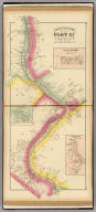 Upper Ohio River and Valley part XI, 173 to 193 miles below Pittsburgh, 274 to 294 miles above Cincinnati. (with) Lauchport, Wood Co., West Virginia. (with) Cedarville, Washington Co., O. (with) Newport, Wood Co., W.V. (... compiled & drawn for the publishers by E.L. Hayes, assisted by E.F. Hayes, C.M. Beresford, assisted by S.A. Charpiot, F.L. Sanford, J.H. Sherman. Published by Titus, Simmons & Titus ... Phila. 1877. Eng. by Worley & Bracher ... Printed by H.J. Toudy & Co. ... Oldach & Mergenthaler Binders ...)