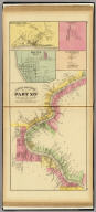 Upper Ohio River and Valley part XIV, 238 to 253 miles below Pittsburgh, 214 to 229 miles above Cincinnati. (with) Minersville ... (with) Condorville ... (with) Racine ... (all) Meigs Co., O. (with) Graham Station, Mason Co., W. Va. (... compiled & drawn for the publishers by E.L. Hayes, assisted by E.F. Hayes, C.M. Beresford, assisted by S.A. Charpiot, F.L. Sanford, J.H. Sherman. Published by Titus, Simmons & Titus ... Phila. 1877. Eng. by Worley & Bracher ... Printed by H.J. Toudy & Co. ... Oldach & Mergenthaler Binders ...)