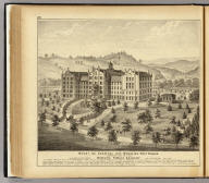 Mount de Chantal, near Wheeling, West Virginia, incorporated under the title of Wheeling Female Academy, in charge of the Sisters of Visitation, B.V.M. (... compiled & drawn for the publishers by E.L. Hayes, assisted by E.F. Hayes, C.M. Beresford, assisted by S.A. Charpiot, F.L. Sanford, J.H. Sherman. Published by Titus, Simmons & Titus ... Phila. 1877 ... Printed by H.J. Toudy & Co. ... Oldach & Mergenthaler Binders ...)