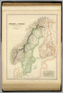 Sweden and Norway with Russian Finland by G.H. Swanston, Edinr. X. (with) Environs of Stockholm. Engd. by G.H. Swanston, Edinburgh. A. Fullarton & Co. Edinburgh, London & Dublin.