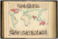 British Empire Throughout the World Exhibited In One View. Compiled By John Bartholomew Junr. F.R.G.S. A. Fullarton & Co. Edinburgh, London & Dublin.