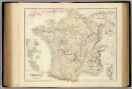 France And Its Principal Foreign Possessions By G.H. Swanston. Edinr. (with) seven inset maps. XLIV. Engd. by G.H. Swanston Edinr. A. Fullarton & Co. Edinburgh, London & Dublin.