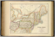 United States North America According to Calvin, Smith & Tanner. By G.H. Swanston Edinr. The North Eastern States Comprising Maine, New Hampshire, Vermont, New York, Massachusetts, Rhode Id., Connecticut, New Jersey, Delaware, Pennsylvania, Maryland, Ohio, and part of Virginia & Michigan. LVI. Engraved by G.H. Swanston Edinburgh. A. Fullarton & Co. Edinburgh, London & Dublin.