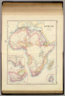 Africa by G.H. Swanston. Revised and Corrected, including Speke and Grant's researches as to The Sources Of The Nile. By J. Bartholomew, F.R.G.S. (with) four inset maps. LXXII. A. Fullarton & Co. Edinburgh, London & Dublin.