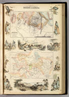 Countries In The Northern Tropical Regions of Africa. (with) two maps. LXXIV. Drawn & Engraved by A. Thom. Edinr. A. Fullarton & Co. London, Edinburgh & Dublin.