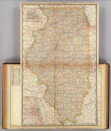 Rand, McNally & Co.'s Illinois.