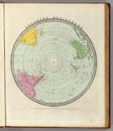 Southern Hemisphere. Engd. & Printed by Illman & Pilbrow. Entered ... by Illman & Pilbrow ... New York.