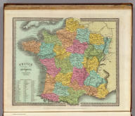 France In Departments. By David. H. Burr, New-York. Entered ... 1832 by David H. Burr ... New York.