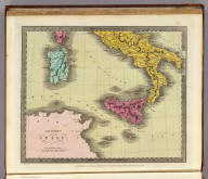 Southern Part of Italy. Lettered by G.W. Teubuer. Entered ... 1835 by Thos. Illman ... New York.