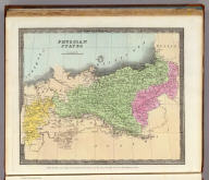 Prussian States. Entered ... 1835 by Thomas Illman ... New York.