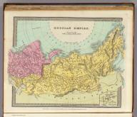Russian Empire. (with) Continuation of Kamtchatka. Entered ... 1834 by Thos. Illman ... New York.