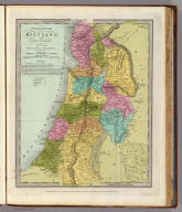 Palestine or the Holy Land, Or the Land of Canaan. New York, Drawn & Published by David H. Burr. (with) Jerusalem. Entered ... 1832 by David H. Burr ... New York.