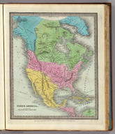 North America. Engraved & Printed by Illman & Pilbrow. Entered ... 1834 by Illman & Pilbrow ... N. York.