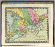 Upper Canada. Entered ... 1833, by Illman & Pilbrow ... New York.