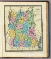 Vermont And New Hampshire. Entered ... 1835 by Thomas Illman ... New-York.