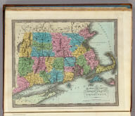 Massachusetts. Rhode Island. And Connecticut. Entered ... Febr. 17th in the year 1835 by Thomas Illman ... New York.