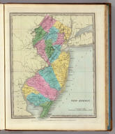 New-Jersey. Entered ... 1835 by Thos. Illman ... New York.