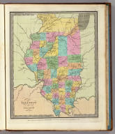 Illinois By David H. Burr New York. Engd by Illman & Pilbrow. Entered ... 1834 by Illman & Pilbrow ... New York.
