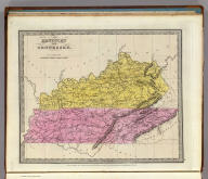 Kentucky And Tennessee. Published ... 1834 by Thos. Illman ... New York.