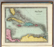 West Indies. Entered ... 1834 by Thomas Illman ... New York.