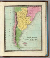 United Provinces, Chili & Patagonia. Entered ... 1833 by Illman & Pilbrow ... New-York.