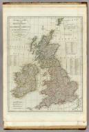 A compleat map of the British Isles, or Great Britain and Ireland with their respective roads and divisions. (By Thomas Kitchin). London: published by Robt. Sayer, no. 53 Fleet Street, as the Act directs, 1st Jany. 1788.