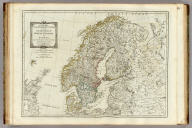 A new map of the Northern States containing the Kingdoms of Sweden, Denmark, and Norway, with the western parts of Russia, Livonia, Courland &ca. (By Thomas Kitchin). London, printed for Robert Sayer, Fleet Street, as the Act directs, October 10th, 1790.