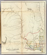 Dakota Territory. Department of the Interior, General Land Office, October 2nd 1866. Jo. S. Wilson, Commissioner. The Major & Knapp Eng. Mfg. & Lith. Co. 71 Broadway, N.Y.