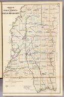 Sketch of the Public Surveys in the State of Mississippi. Department of the Interior, General Land Office, October 2nd 1866. Jo. S. Wilson, Commissioner. No. 12.