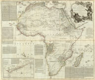 (Composite of) Africa, with all its states, kingdoms, republics, regions, islands, &ca. Improved and inlarged from D'Anville's map, to which have been added a particular chart of the Gold coast, wherein are distinguished all the European forts and factories. By S. Boulton, and also a summary description relative to the trade and natural produce, manners and customs of the African continent and islands. London, printed for Robert Sayer, Fleet Street, as the Act directs, 6 Jany. 1787