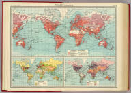 "World - commerce. Commercial development. (with) Occupations. (with) Means of traffic. The Edinburgh Geographical Institute, John Bartholomew & Son, Ltd. ""The Times"" atlas. (London: The Times, 1922)"