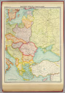 "Eastern Europe - communications. The Edinburgh Geographical Institute, John Bartholomew & Son, Ltd. ""The Times"" atlas. (London: The Times, 1922)"