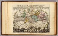 A new map of the whole world with the trade winds according to ye latest and most exact observations. By H. Moll Geographer. Printed for Thos. Bowles Print and Map Seller next ye Chapter House in St. Pauls Churchyard, and John Bowles Print and Map Seller at the Black Horse in Cornhill, London (1736?)