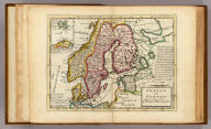 Sweden and Norway. Agreeable to modern history. By Herman Moll Geographer. (with) Green Land (i.e., Spitsbergen). (Printed for Tho: Bowles next ye Chapter House in St. Pauls Church Yard, & John Bowles at the Black Horse in Cornhill, London 1736?)