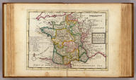 France divided into all its provinces and acquisitions &c. Agreeable to modern history. By H. Moll Geographer. (Printed and sold by T. Bowles next ye Chapter House in St. Pauls Church yard, & I. Bowles at ye Black Horse in Cornhill, 1736?)