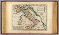 Italy. Distinguishing all the sovereignties in it &c. Agreeable to modern history. By H. Moll Geographer. (Printed and sold by T. Bowles next ye Chapter House in St. Pauls Church yard, & I. Bowles at ye Black Horse in Cornhill, 1736?)