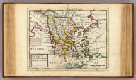 Greece or the south part of Turky in Europe. By H. Moll Geographer. (Printed and sold by T. Bowles next ye Chapter House in St. Pauls Church yard, & I. Bowles at ye Black Horse in Cornhill, 1736?)