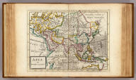 Asia By H. Moll Geographer. (Printed and sold by T. Bowles next ye Chapter House in St. Pauls Church yard, & I. Bowles at ye Black Horse in Cornhill, 1736?)